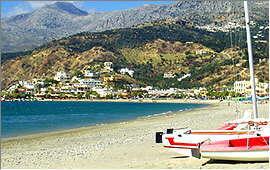 Plakias: Blick vom Strand